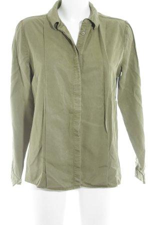 Ivy & Oak Long Sleeve Shirt olive green casual look