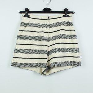 Ivy & Oak High-Waist-Shorts black-natural white