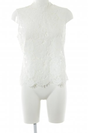 Ivy & Oak Lace Top natural white romantic style