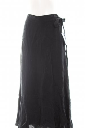 Ivy & Oak Wraparound Skirt black casual look