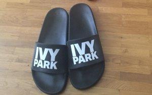 Ivy Park Sabots black-white