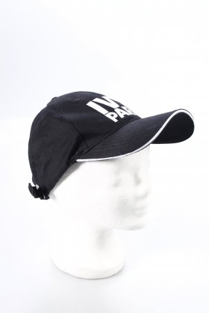 Ivy Park Baseball Cap black-white athletic style