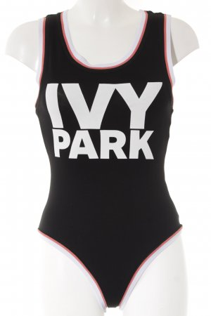 Ivy Park Bodysuit Blouse printed lettering street-fashion look