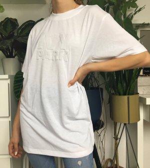 Ivy Park Camisa holgada blanco Algodón