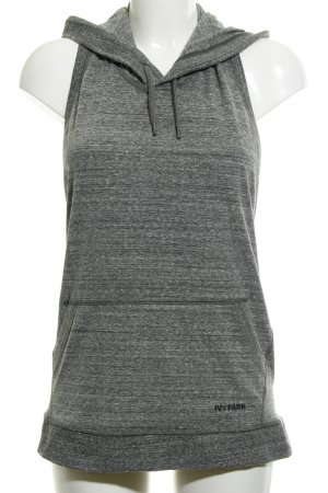 Ivy Park Muscle Shirt grey flecked athletic style