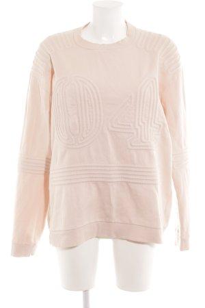 Ivy Park Sweatshirt rosé Schriftzug gestickt sportlicher Stil