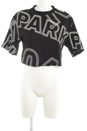 Ivy Park T-Shirt schwarz sportlicher Stil