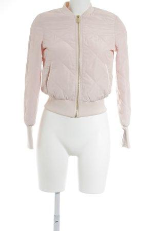 Ivyrevel Bomberjacke rosé Steppmuster Casual-Look