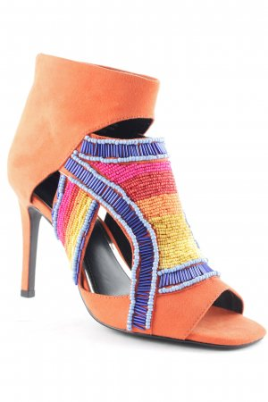 Ivyrevel High Heels abstraktes Muster Boho-Look