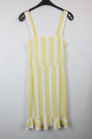 Ivyrevel Kleid Gr. S gelb weiß gestreift (18/6/421)