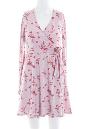 Ivyrevel Langarmkleid rosa-rot Boho-Look