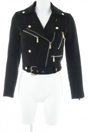 Ivyrevel Lederjacke goldfarben-schwarz Elegant