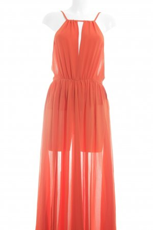 Ivyrevel Maxikleid neonorange Beach-Look