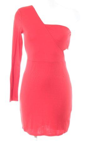 Ivyrevel One-Shoulder-Kleid dunkelrot extravaganter Stil