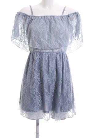 Ivyrevel Spitzenkleid blau Casual-Look