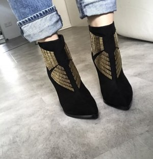 Ivyrevel Booties black-gold-colored
