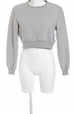 Ivyrevel Sweatshirt hellgrau meliert Street-Fashion-Look