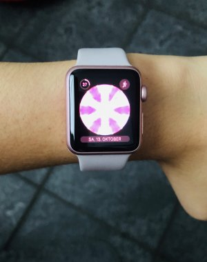 iwatch serie 1 rosegold