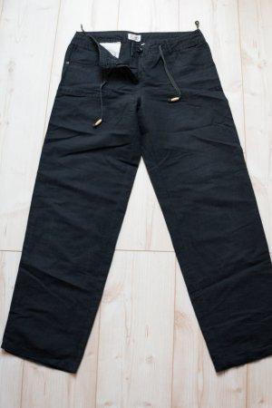 Linen Pants black linen