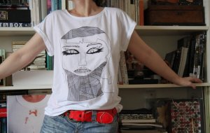 IZAIZA TShirt Zahnspange Oversized (Siebdruck) LIMITED EDITION