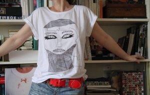 Crochet Shirt white cotton