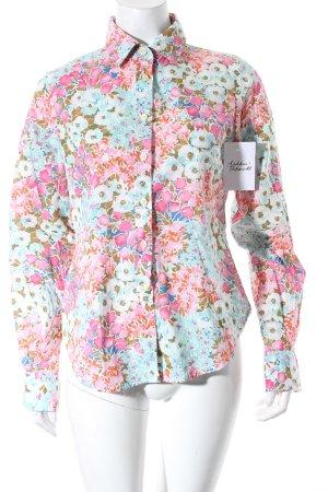 J.A.G.H.S. Hemd-Bluse mehrfarbig 70ies-Stil