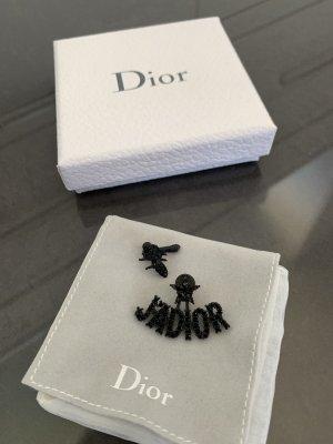 Dior Statement oorbellen zwart