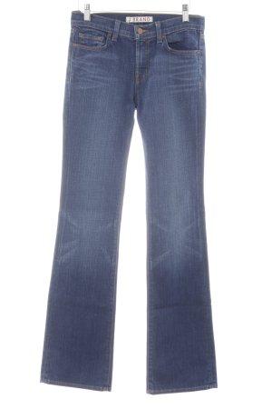 """J brand Jeans bootcut """"Cut #2107"""" bleu foncé"""
