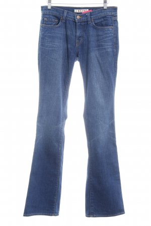 J brand Boot Cut Jeans dunkelblau Casual-Look