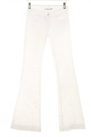 J brand Boot Cut Jeans weiß Boho-Look