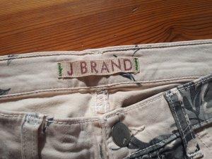 J brand Pantalon boyfriend gris-rosé