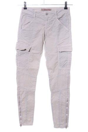 J brand Pantalone cargo grigio chiaro stile casual