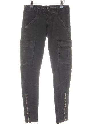 J brand Cargohose schwarz Street-Fashion-Look