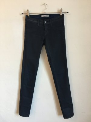 J Brand Coated w24 34 36 blau skinny jeans dunkelblau designer Hose