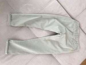 J brand Pantalon chinos gris vert-gris clair coton