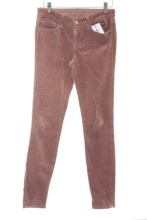 J brand Pantalone di velluto a coste cognac stile casual