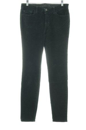 J brand Pantalón de pana verde oscuro look Street-Style