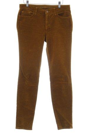J brand Pantalone di velluto a coste sabbia look vintage
