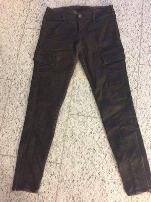 J Brand dunkelbraune Jeans