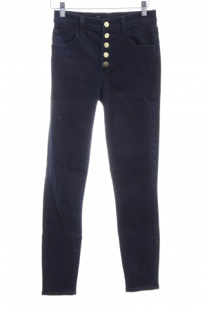 J brand Hoge taille jeans donkerblauw casual uitstraling