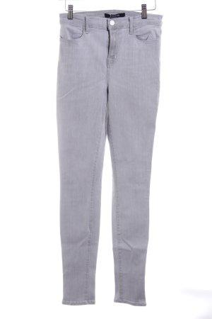 J brand High Waist Jeans hellgrau Casual-Look