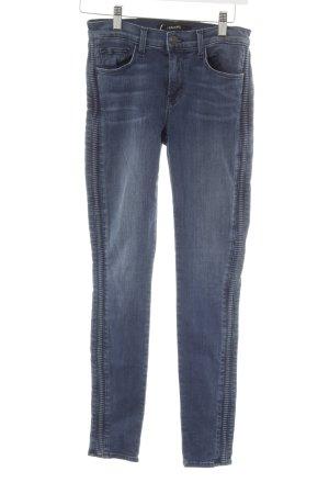 J brand High Waist Jeans stahlblau-goldfarben Casual-Look