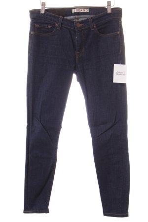 J brand Hüftjeans dunkelblau Jeans-Optik