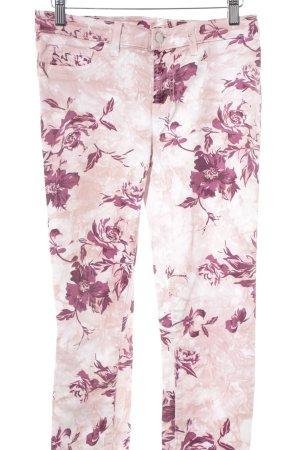 J brand Hüftjeans florales Muster Casual-Look