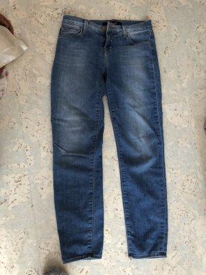 J brand Jeans a 7/8 blu acciaio