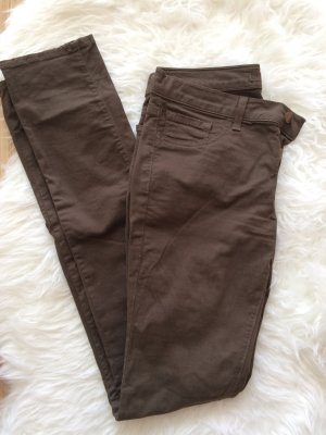 J brand Drainpipe Trousers ocher-dark green