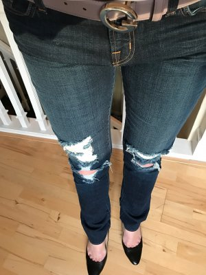 J Brand Jeans dunkelblau low rise pencil leg