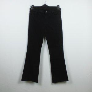J brand Jeans a zampa d'elefante nero Cotone