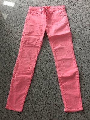 J.Brand Jeans neon pink einmal getragen