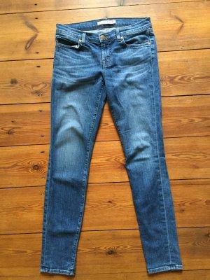 J BRAND Jeans, Skinny Leg, blau, schmal geschnitten, Gr. 27 (36)